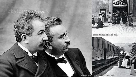 파리의 그랑 카페에서 열 편의 영화를 상영하다