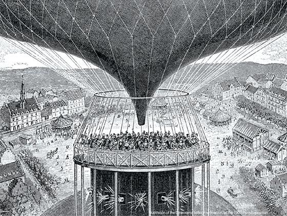 파리 만국 박람회에서 거대한 스크린이 등장하다